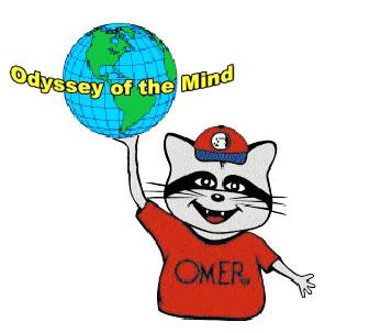 Odyssey of the Mind Clip Art / OmerGlobeBlue.gif